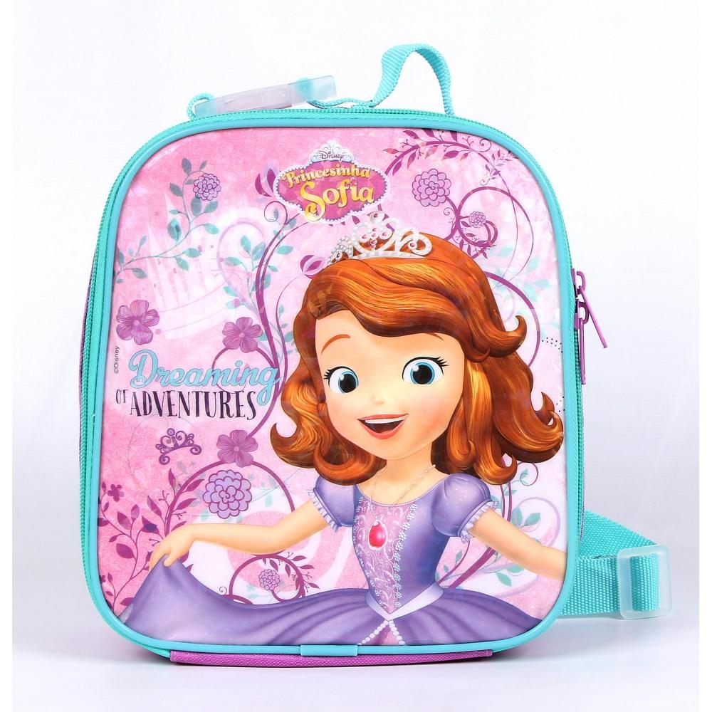 725dc2db0 Lancheira Princesa Sofia Dreaming Of Adventures DWL52155 - O Maleiro